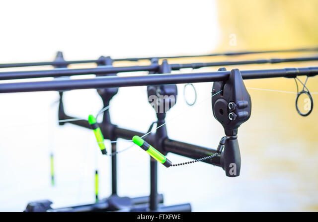 Carp rod stock photos carp rod stock images alamy for Fish bite rod holders