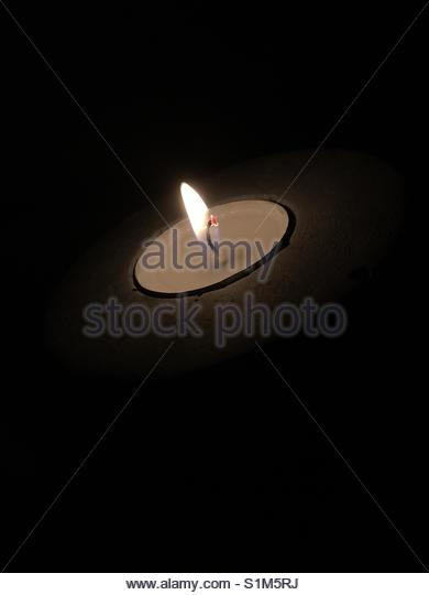 candle Light' - Stock Image