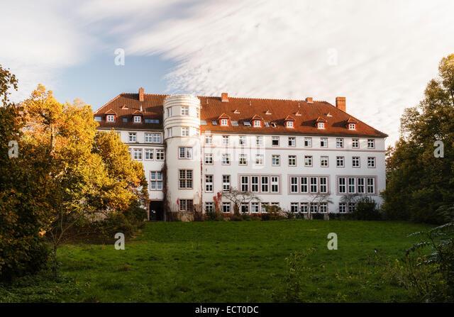 Germany  Lower Saxony  Hildesheim  Trillke-Gut in autumn - Stock Image