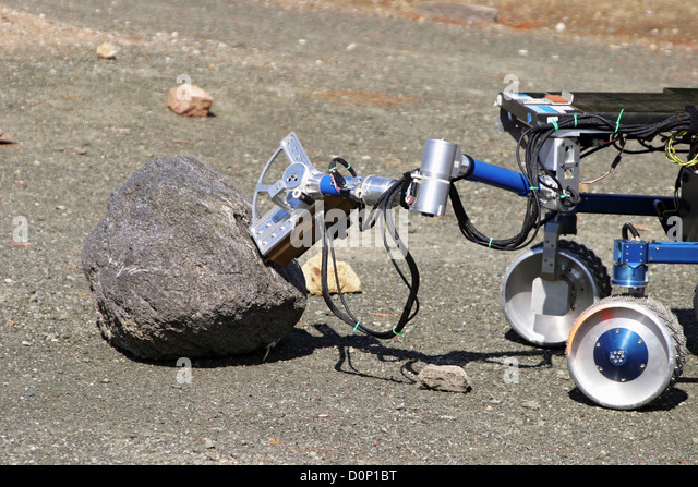 K-9 Rover Shows Off - Stock Image