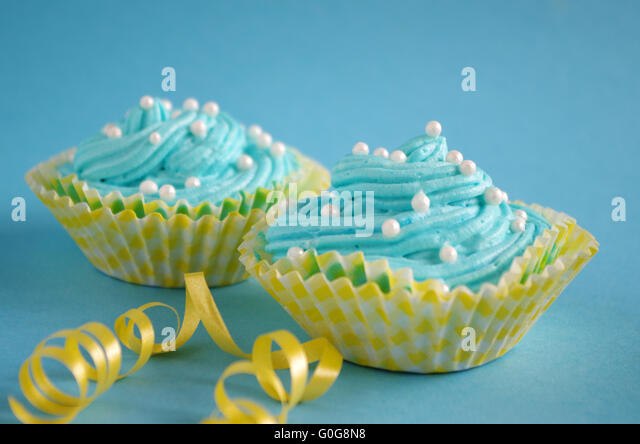 birthday cake - Stock Image