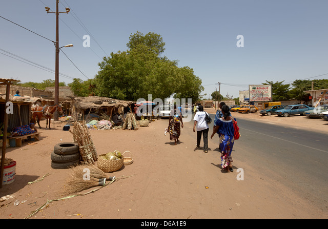 Thies, Senegal, Africa - Stock Image