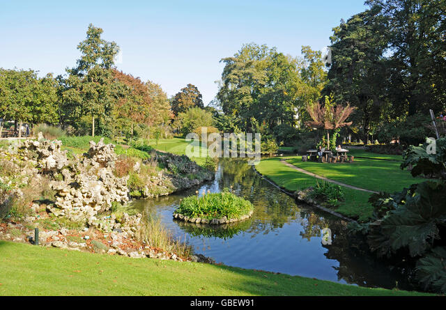 Jardin atlantique stock photos jardin atlantique stock for Jardin je france