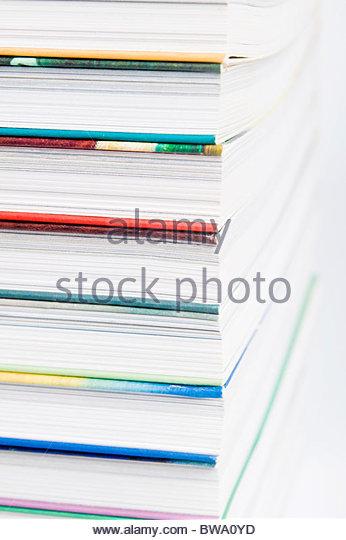 pile of books - Stock-Bilder