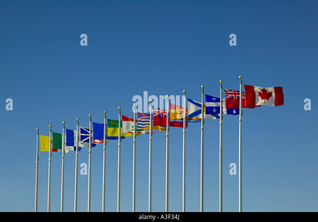 Flags of Canada - Stock-Bilder