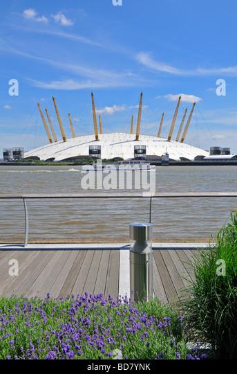 O2 arena Millennium Dome, London, United Kingdom - Stock-Bilder