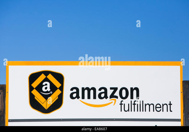 An Amazon.com Fulfillment center in Chester, Virginia. - Stock Image