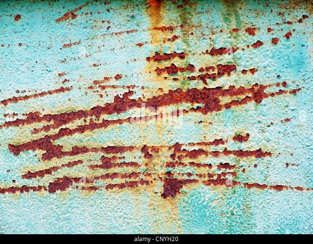 Rust on the walls - Stock-Bilder