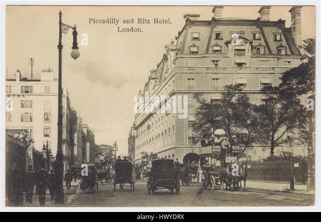 Hotel Ritz & Piccadilly, London, United Kingdom - Stock Image