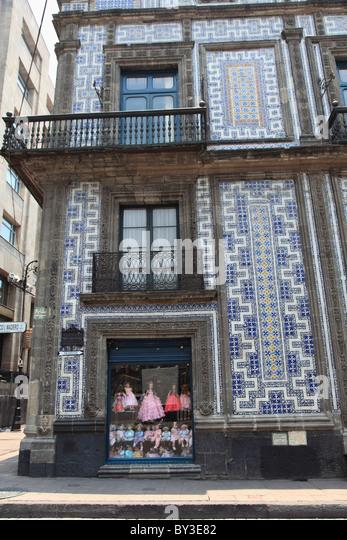 Mexico house tile stock photos mexico house tile stock for House of tiles mexico city