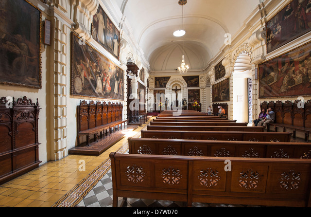 The Convent of Santo Domingo, Lima, Peru, South America - Stock Image