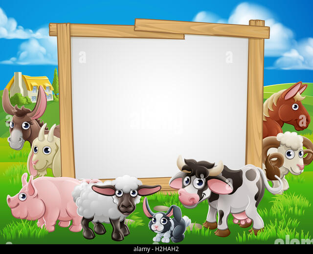 Petting zoo sign stock photos