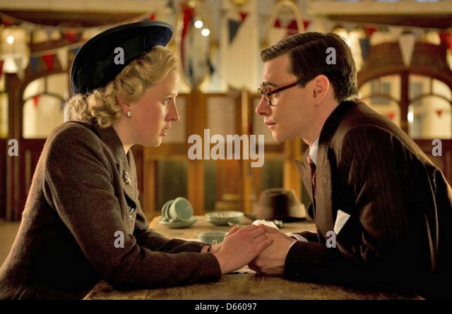 THE IRON LADY 2011 Pathe/Film 4 production with Alexandra Roach as a young Margaret Thatcher and Harry Lloyd - Stock Image