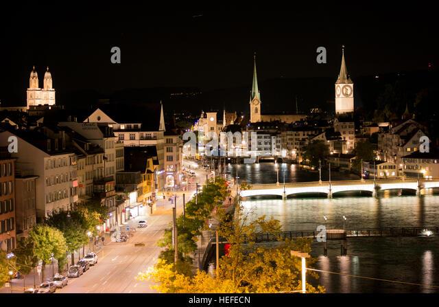 Zurich, Switzerland - Stock Image