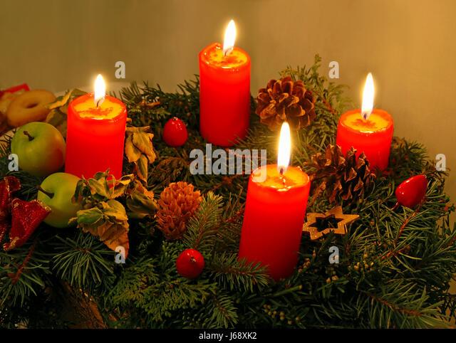 Candle christmas holly candle christmas decoration flame for 7 candle christmas decoration