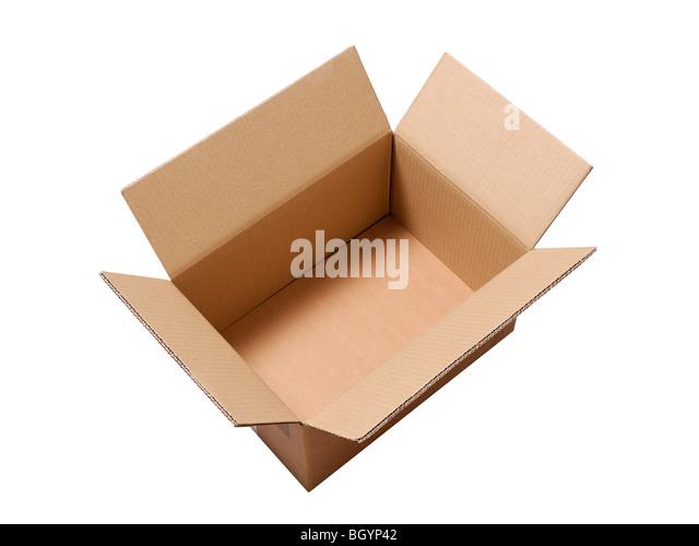 Cardboard Box - Stock Image