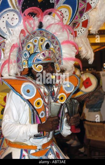 BAHAMAS Junkanoo Parade - Stock Image