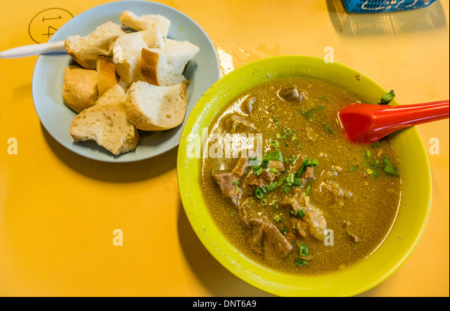 Mutton Soup - Stock Image