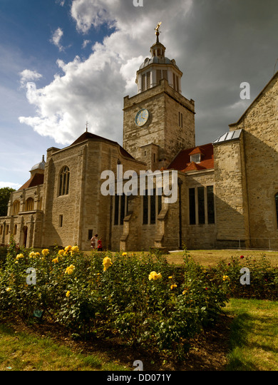 Portsmouth Cathedral, Hampshire, England - Stock Image