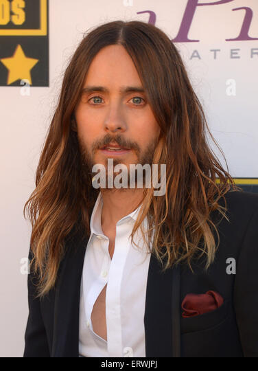 Actor Jared Leto, Los Angeles, CA - Stock Image