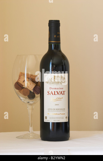 Domaine Salvat Tradition. Roussillon, France - Stock Image