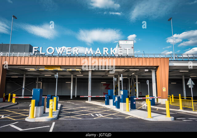 The New Covent Garden Market in Battersea, London,UK - Stock Image
