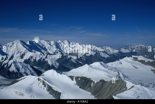 Tian Shan Mountains in Kazakstan - Stock Image