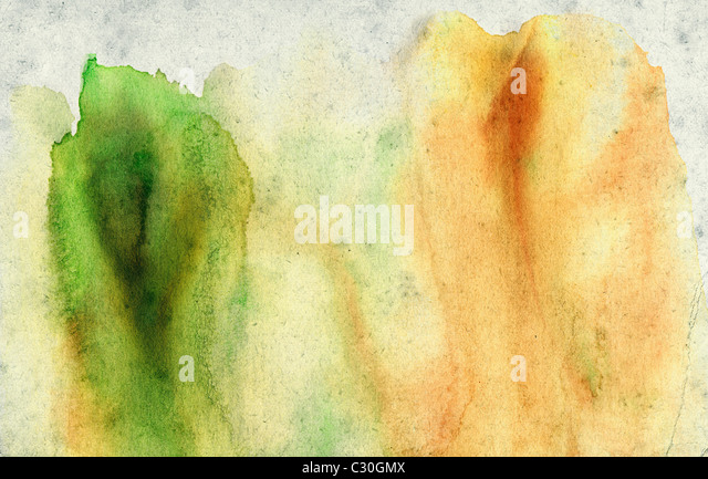 Modern Abstract Mixed Media Wall Art Painting. Contemporary Creative Artwork Created Using Pallet Knife Brush and - Stock-Bilder