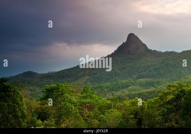 Cerro Chichibali in the central part of the Cocle province, Republic of Panama. - Stock-Bilder