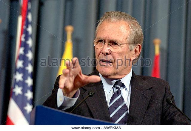 Robert McNamara and Donald Rumsfeld — compare and contrast