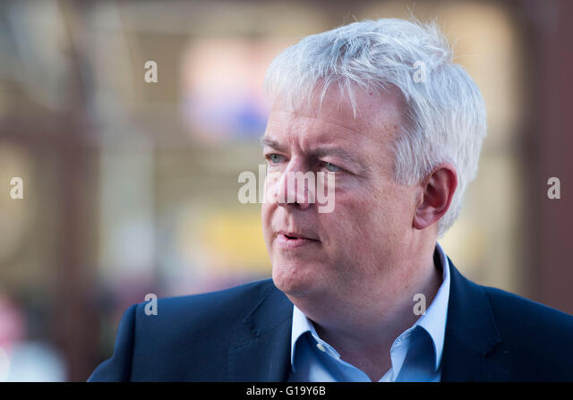 First Minister of Wales Carwyn Jones AM. - Stock Image