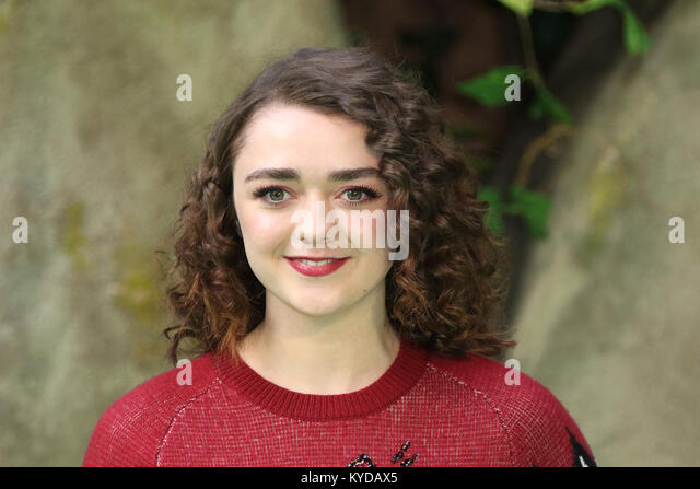 London, UK. 14th January, 2018. Maisie Williams, Early Man - World premiere, BFI IMAX, London UK, 14 January 2018, - Stock Image