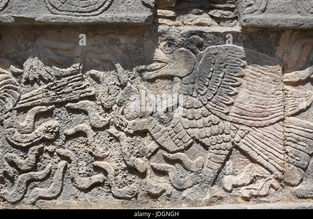 Maya civilization wall stock photos