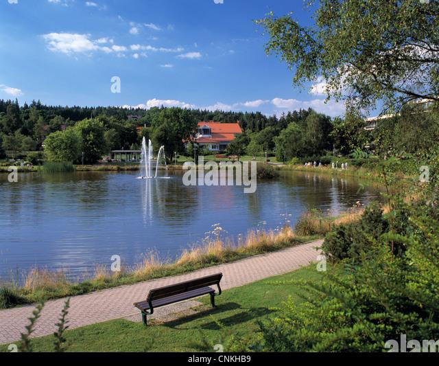 Goslar hahnenklee bockswiese stock photos goslar for Kleiner teich