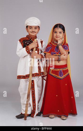Indian Boy Dress Gujarati Stock Photos & Indian Boy Dress ...