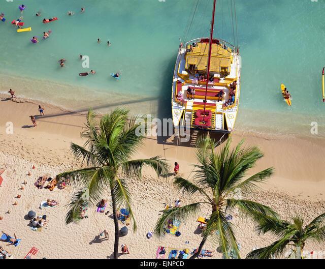 Hawaii  USA - Stock Image