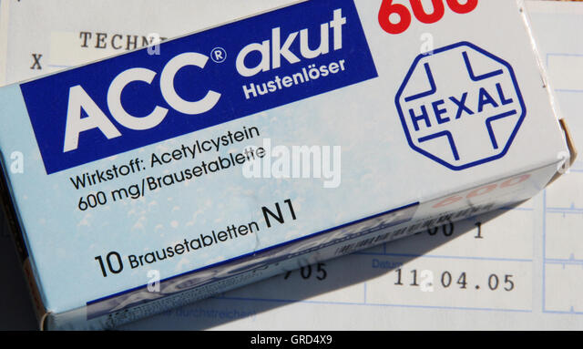 Firma Hexal Cough Solver Acc - Stock Image