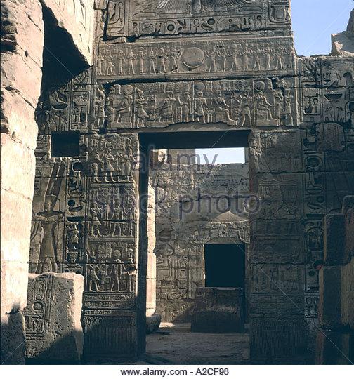 Egyptian mother goddess stock photos