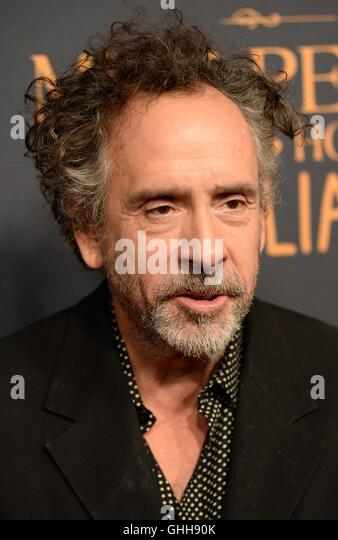 New York, NY, USA. 26th Sep, 2016. Tim Burton at arrivals for MISS PEREGRINE'S HOME FOR PECULIAR CHILDREN Premiere, - Stock-Bilder