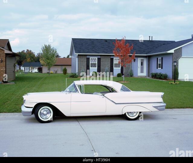 1957 Oldsmobile 88. Artist: Unknown. - Stock Image