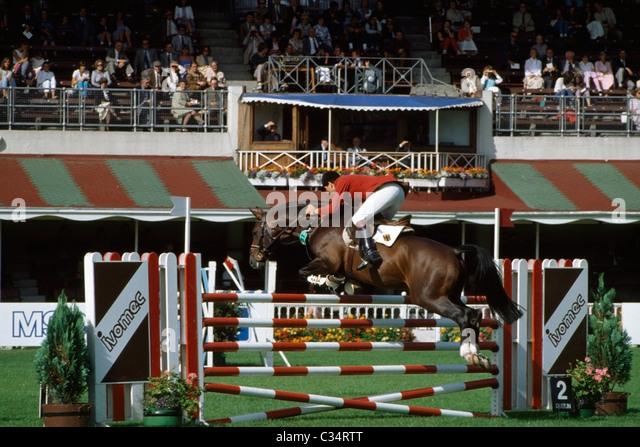 Rds Horse Show, Dublin, County Dublin, Ireland - Stock Image