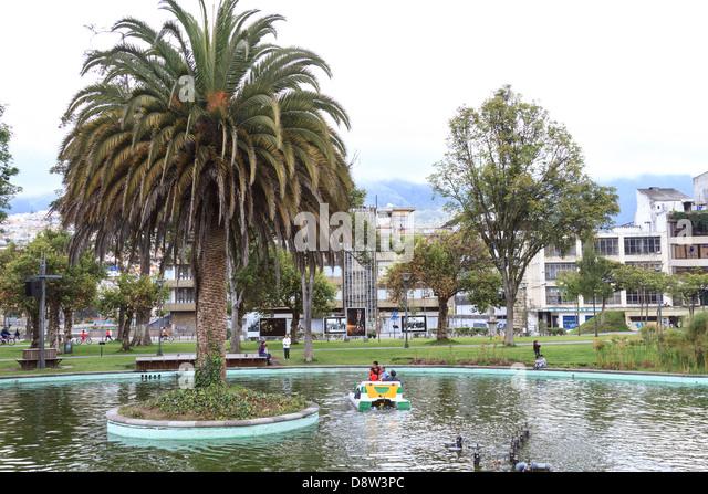 Parque Alameda, Quito, Ecuador - Stock Image