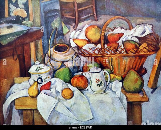 Cezannes fruit and basket essay