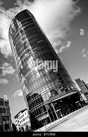 office building, black&white in stuttgart, germany - Stock-Bilder