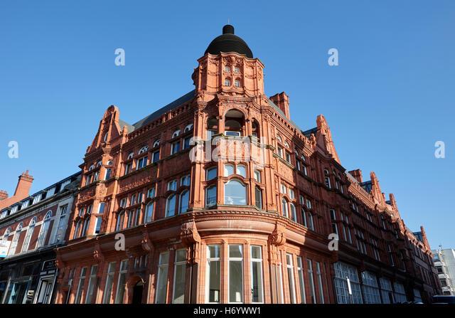 Wigan library former municipal building England United Kingdom - Stock-Bilder