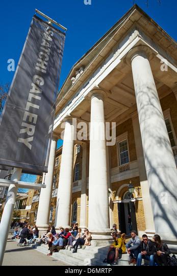 Saatchi Gallery Duke of York HQ Kings Road Chelsea London UK - Stock Image