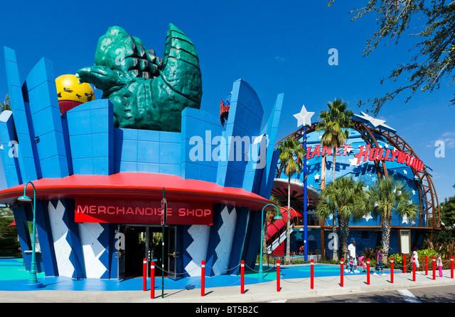 Planet Hollywood, Downtown Disney, Lake Buena Vista, Orlando, Central Florida, USA - Stock Image