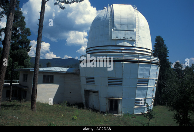 The observatory of Abastumani Georgia - Stock Image