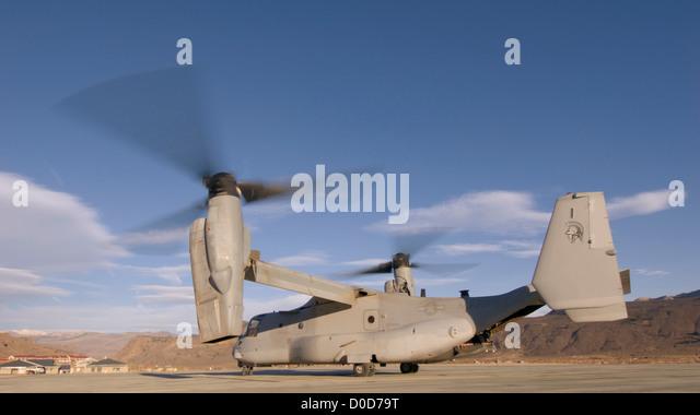 The V-22 Osprey - Stock Image
