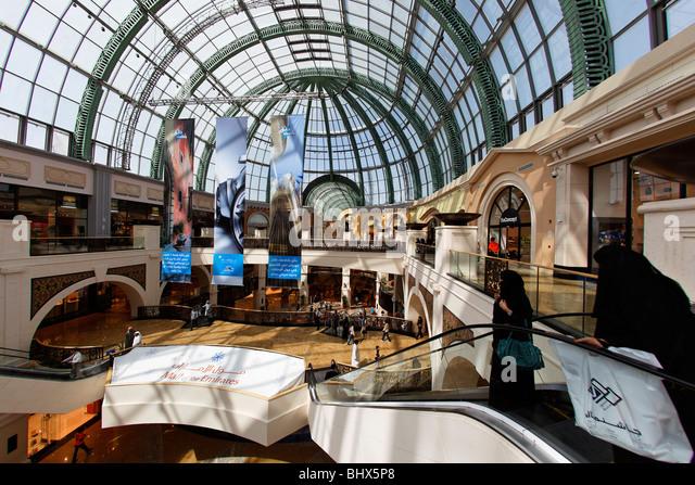 Dubai Mall of Emirates shopping mall  - Stock Image